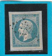 N° 14 A    -   Pour Planchage - LOT JC + Variété - 1853-1860 Napoléon III