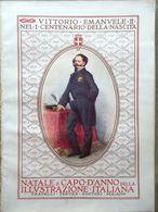 L'Illustrazione Italiana 28 Dicembre 1913 Centenario Vittorio Emanuele II Savoia - Libri, Riviste, Fumetti
