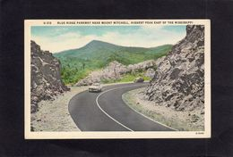 95218    Stati  Uniti,   Blue Ridge  Parkway  Near  Mount  Mitchell,  Highest  Peak  East Of The Mississippi,  NV - Etats-Unis