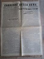 - CORRIERE DELLA SERA  RIPRODUZIONE DEL 22-05- 1927 LINDBERGH VOLO NEW YORK PARIGI - Libri, Riviste, Fumetti