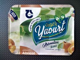 Opercule Cover Yaourt Yogurt GIPLAIT D'Algérie Yoghurt Yoghourt Yahourt Yogourt - Coperchietti Di Panna Per Caffè