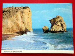 Paphos - Geburt Der Venus - Aphrodite Anadiome - Zypern - 1984 - Cyprus