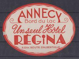 Annecy, Hôtel Régina, France. - Collezioni