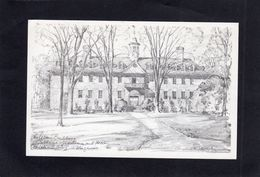 95220    Stati  Uniti,   Wren  Building,  Williamsburg,  Virginia,  NV - Non Classés