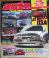AUTO - N.2 - FEBBRAIO 1992 - ANNO VIII - PORSCHE 968 CABRIOLET - PEUGEOT 106 XSi - ALFA ROMEO 155 .- FIAT PANDA SELECTA - Motori