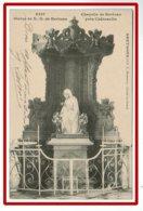 25427  CPA  Chapelle De KERLUAN Pres De CHATEAULIN , Statue De ND De Kerluan ! 1918 !! - Châteaulin