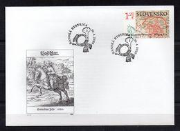 SLOVAQUIE - SLOVAKIA - 2020 - FDC - EPJ - EUROPA - ANCIENT MAIL ROUTES - LES ANCIENNES VOIES POSTALES - - Slovacchia