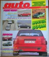 AUTO - N.3 - MARZO 1992 - ANNO VIII - BMW 325 COUPE'/525 TDS - FIAT 500 ED704 - RENAULT 19 SPIDER - VW GOLF 1800 GL  3P - Motori