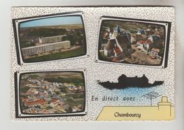 CPSM CHAMBOURCY (Yvelines) - En Direct Avec.......3 Vues - Chambourcy