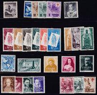 1950. * 2º CENTENARIO- Lote De 12 Series Completas - 1931-Heute: 2. Rep. - ... Juan Carlos I