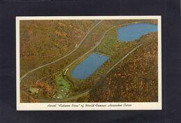 "95226    Stati  Uniti,   Altoona,  Pa.,   Aerial  ""Autumn View""  Of  World Famous Horseshoe Curve,  NV - Etats-Unis"