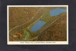 "95227    Stati  Uniti,   Altoona,  Pa.,   Aerial  ""Autumn View""  Of  World Famous Horseshoe Curve,  NV - Etats-Unis"