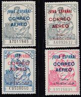 1937. * Edifil: EMISIONES LOCALES PATRIOTICAS: BURGOS 19/22. Marquilla CRITIKIAN - Nationalistische Ausgaben