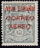 1937. * Edifil: EMISIONES LOCALES PATRIOTICAS: BURGOS 56. Marquilla CRITIKIAN - Nationalistische Ausgaben