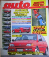 AUTO - N.5 - MAGGIO 1992 - ANNO VIII - BMW 520i TOURING - CITROEN XM BREAK - ROVER 820 TI - SUZUKI SWIFT 1300 - Motori