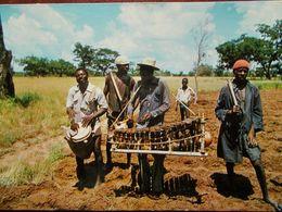 """HAUTE VOLTA (BURKINA FASO) - En Pays Tierengo - NIANKAR Près De BANFORA - Orchestre D'une """"Société De Culture"""". - Burkina Faso"""