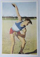 Foto Cromo Olimpiada De Los Ángeles. 1932. Nº 50. Atletismo. Lanzamiento De Disco. Francia, Jules Noel Hecho 1936 Berlín - Trading Cards