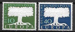 ALLEMAGNE     -    1957   -    EUROPA   .  Y&T N° 140 à 141 ** - 1957