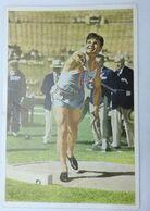 Foto Cromo Olimpiada De Los Ángeles. 1932. Nº 80. Atletismo. Lanzamiento De Peso. USA, James Bausch. Hecho 1936 Berlín - Trading Cards