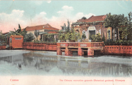 R404155 Canton. The Chinese Recreation Grounds. Botanical Gardens. Whampoa. The Hongkong Pictorial Postcard - Cartes Postales
