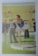 Foto Cromo Olimpiada De Los Ángeles. 1932. Nº 83. Atletismo. Lanzamiento De Peso. Finlandia, Achilles Järvinen - Trading Cards