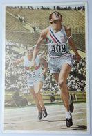 Foto Cromo Olimpiada De Los Ángeles. 1932. Nº 85. Atletismo. 100 Metros. USA, Wilson Charles. Alemania, Wegener - Trading Cards