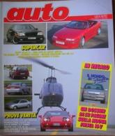 AUTO - N.6 - GIUGNO 1992 - ANNO VIII - HONDA CIVIC 1.6 VTi - TOYOTA CAMRY V6GX - LOTUS ESPRIT TURBO 2.0 - OPEL VECTRA TD - Motori
