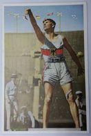 Foto Cromo Olimpiada De Los Ángeles. 1932. Nº 87. Atletismo. Lanzamiento De Peso. Alemania, Hans Sievert - Trading Cards