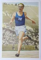 Foto Cromo Olimpiada De Los Ángeles. 1932. Nº 88. Atletismo. 100 Y 400 Metros. Finlandia, Achilles Järvinen - Trading Cards