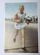 Foto Cromo Olimpiada De Los Ángeles. 1932. Nº 93. Atletismo. Maratón. Alemania, Paul De Bruyn. Hecho En 1936 Berlín - Trading Cards