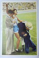 Foto Cromo Olimpiada De Los Ángeles. 1932. Nº 94. Atletismo. Maratón. Argentina, Zabala. Hecho En 1936 Olimpiada Berlín - Trading Cards