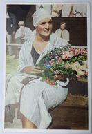 Foto Cromo Olimpiada De Los Ángeles. 1932. Nº 107. Natación, Braza. Australia, Claire Dennis. Hecho En 1936 Berlín - Trading Cards
