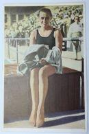 Foto Cromo Olimpiada De Los Ángeles. 1932. Nº 112. Natación. USA, Eleanor Holm. Hecho En 1936 Para Olimpiada De Berlín. - Trading Cards