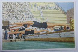 Foto Cromo Olimpiada De Los Ángeles. 1932. Nº 119. Natación. USA, Helene Madison. Hecho En 1936 Para Olimpiada De Berlín - Trading Cards