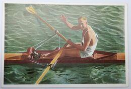 Foto Cromo Olimpiada De Los Ángeles. 1932. Nº 133. Natación. Remo. Australia, Henry Robert Pearce. Hecho En 1936 Berlín - Trading Cards
