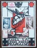 CM 1951 - YT N°876, 877 - EXPOSITION CROIX ROUGE - PARIS - Cartas Máxima