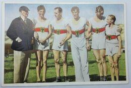 Foto Cromo Olimpiada De Los Ángeles. 1932. Nº 135. Natación. Remo. Alemania. Hecho En 1936 Para Olimpiada De Berlín - Trading Cards
