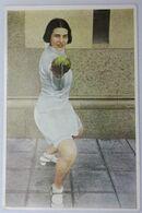 Foto Cromo Olimpiada De Los Ángeles. 1932. Nº 140. Esgrima, Florete. Austria, Ellen Preis. Hecho 1936  Olimpiada Berlín - Trading Cards