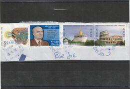 Storia Postale -  Usato Su Frammento ( Vari )  - - 6. 1946-.. Repubblica