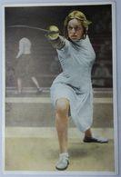 Foto Cromo Olimpiada De Los Ángeles. 1932. Nº 141. Esgrima, Florete. Alemania, Helene Meyer. Hecho 1936 Olimpiada Berlín - Trading Cards