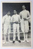 Foto Cromo Olimpiada De Los Ángeles. 1932. Nº 143. Esgrima, Florete. USA, Lewis. Italia, Marzi, Gaudini - Trading Cards