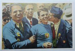 Foto Cromo Olimpiada De Los Ángeles. 1932. Nº 177. Ciclismo, Velódromo. Italia, Attilo Pavesi. Hecho En 1936 Berlín - Trading Cards