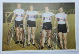 Foto Cromo Olimpiada De Los Ángeles. 1932. Nº 178. Ciclismo, Velódromo. Inglaterra. Hecho En 1936 Para Olimpiada Berlín - Trading Cards