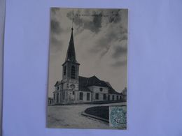 CPA 78  MARLY-le-ROI L' Eglise 1905  TBE - Marly Le Roi