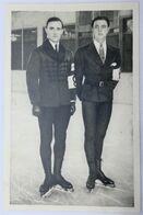 Foto Cromo Olimpiada De Los Ángeles. 1932. Nº 190. Patinaje Artístico. Gillis Grafstrom, Karl Schafer. Hecho 1936 Berlín - Trading Cards