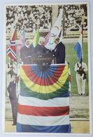 Foto Cromo Olimpiada De Los Ángeles. 1932. Nº 199. Comité, Graf Baillet-Latour, Rossem. Hecho En 1936 Olimpiada Berlín - Trading Cards