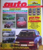AUTO - N.8 - AGOSTO 1992 - ANNO VIII - HONDA CRX 1.6 VTi - MITSUBISHI ECLIPSE 2.0i 16V- SAAB 9000 CS - OPEL FRONTERA TD - Motori