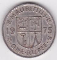 Ile Maurice One Rupee 1975 Elizabeth II. KM# 35 - Mauritius
