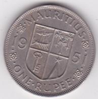 Ile Maurice One Rupee 1951 George VI. KM# 29 - Mauritius