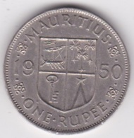 Ile Maurice One Rupee 1950 George VI. KM# 29 - Mauritius